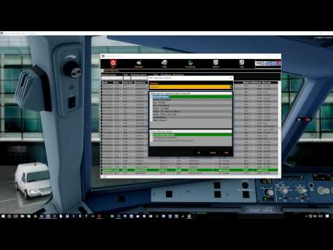ProATC X 1.8.7.0 How I set it up and an example flight from the new UK2000 EGCC to FT EHAM Pt 2