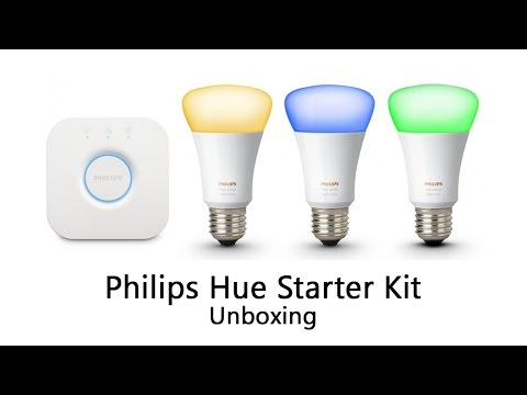 Philips Hue Starter Kit Unboxing 3rd Generation