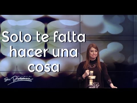 Solo te falta hacer una cosa - Natalia Nieto - 6 Octubre 2013