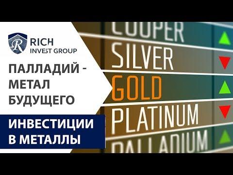 Палладий - метал будущего? Инвестиции в Палладий | Инвестиции в металлы | Палладий цена прогноз