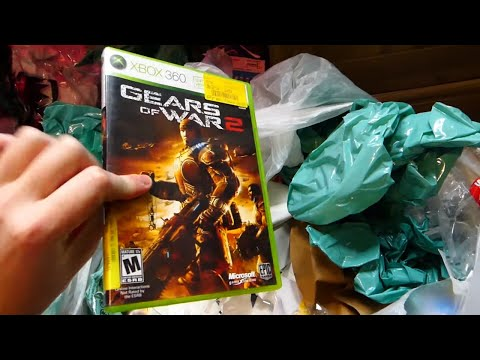 This VIDEO GAME Is INCREDIBLY RARE!! Gamestop Dumpster Dive Night #723