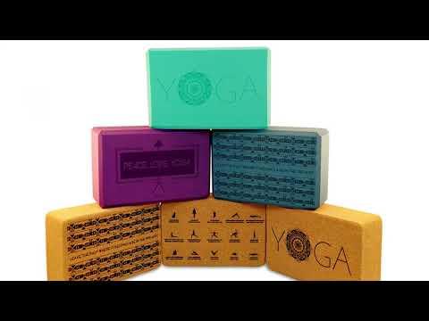 Yoga Block Engraving   Foam and Cork Yoga Blocks