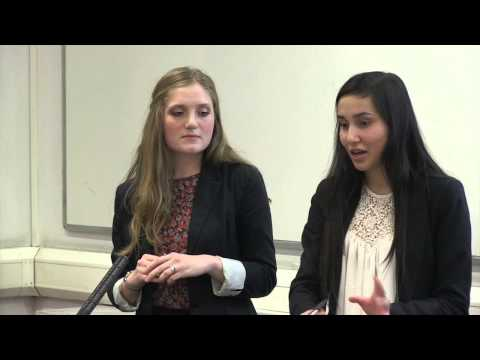 Law School, Brunel University London - Inner Temple Debating Competition 2015