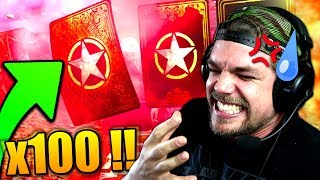 OUVERTURE EPIC de 100 RAVITAILLEMENTS RARE !! (Call of Duty: WW2)