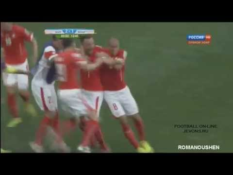 Haris Seferovic amazing Goal (Not Vine) Switzerland vs Ecuador 2-1 FIFA WORLD CUP BRAZIL