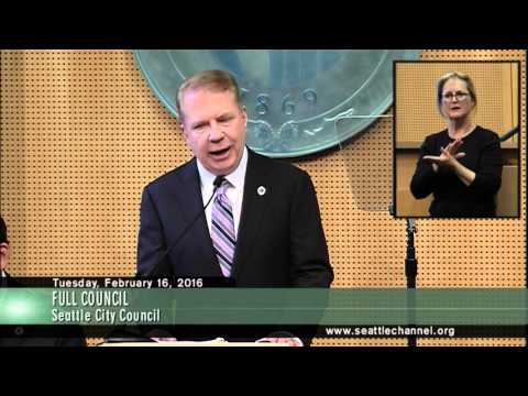 Seattle Mayor Ed Murray's State of the City 2016