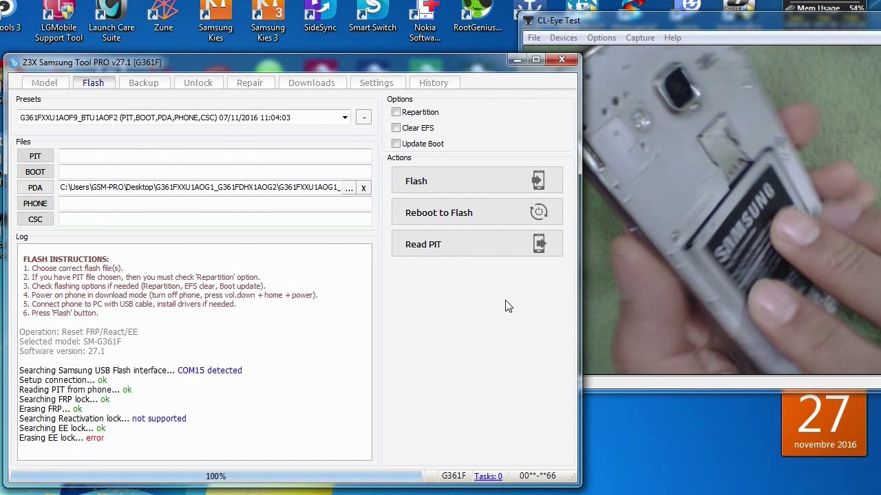 Samsung Galaxy Core Prime Bypass Google account Remove FRP