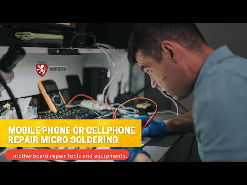 Mobile phone or cellphone repair micro soldering and motherb