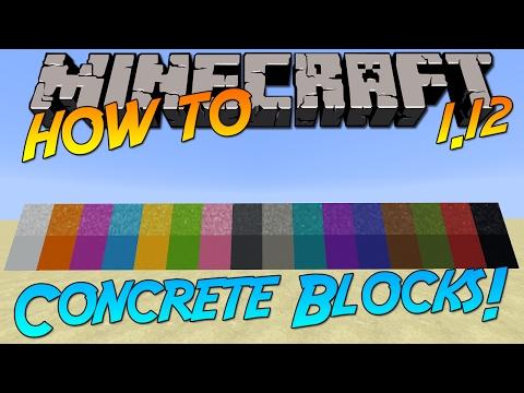 minecraft-1.12-|-how-to:-craft-concrete-&-concrete-powder-blocks!