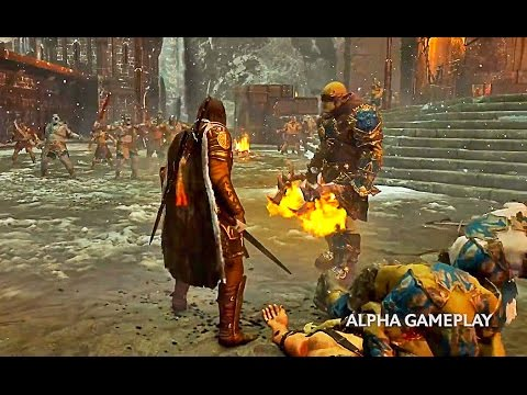 MIDDLE EARTH SHADOW OF WAR Gameplay Trailer - First ...