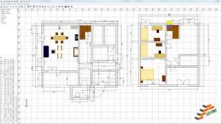 Проектирование дома в программе Sweet Home 3D