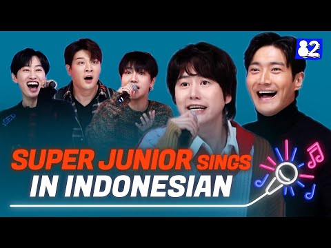 SUPER JUNIOR sings in IndonesianㅣSorry Sorry, Mr.Simple, 2YA2YAO!ㅣTry-lingual Live