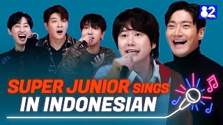 Download lagu SUPER JUNIOR sings in IndonesianㅣSorry Sorry, Mr.Simple, 2YA2YAO!ㅣTry-lingual Live