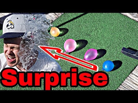 WATER BALLOON MINI GOLF  AirPods Winner Announced