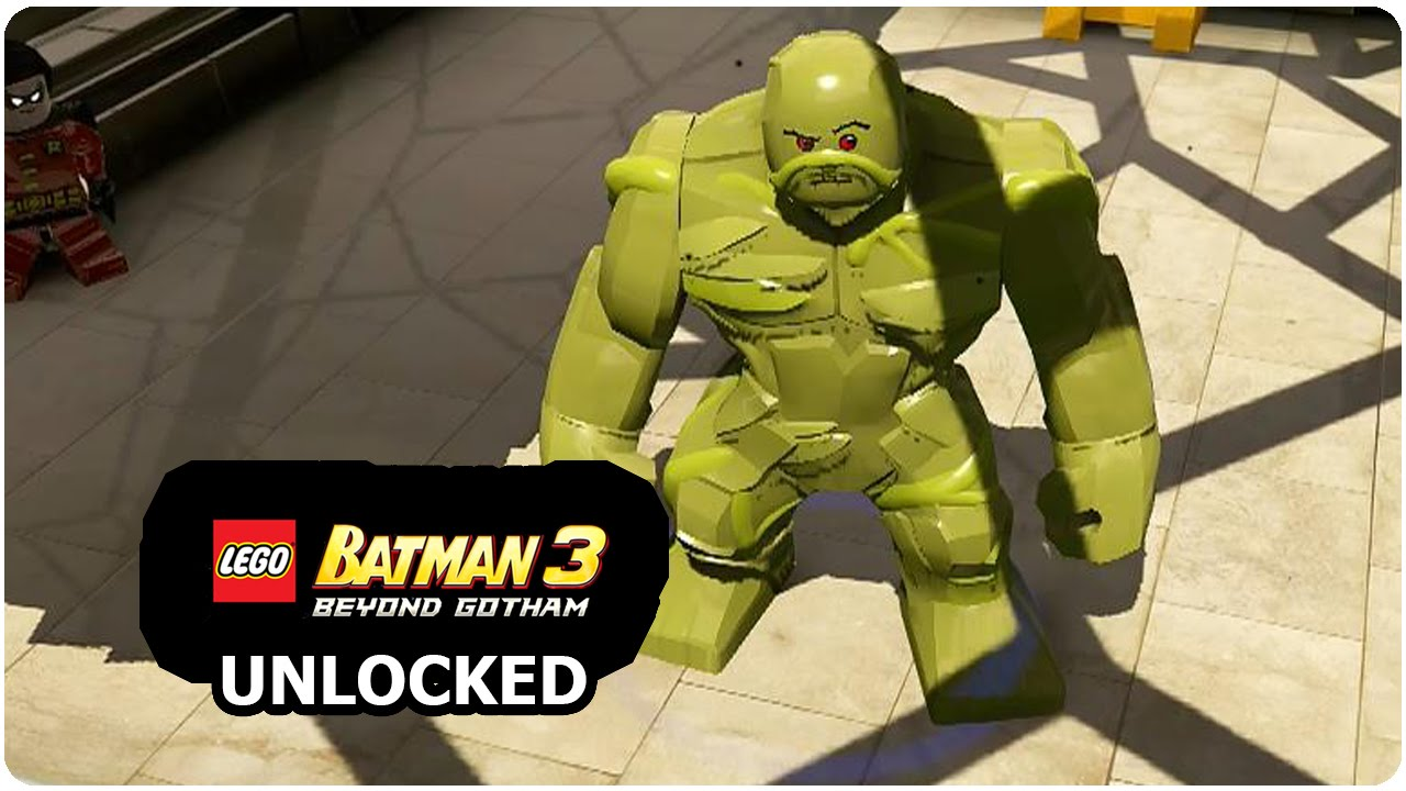 LEGO Batman 3: Beyond Gotham - How to Unlock Swamp Thing ...