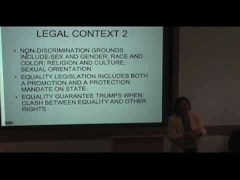 International Studies Symposium Series - Rashida Manjoo Part 5