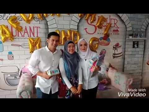 Imel putri cahyati and afdhal video with fans