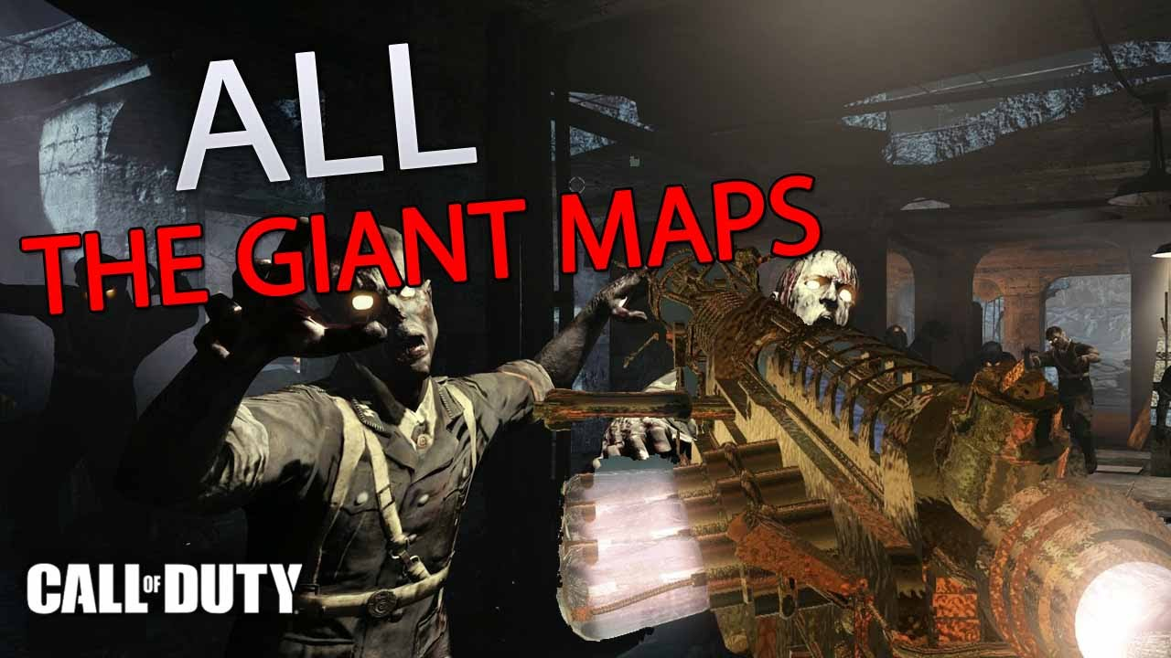 Call of duty all the giant maps comparison world at war black call of duty all the giant maps comparison world at war black ops black ops 3 youtube gumiabroncs Choice Image