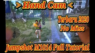 TUTORIAL SHOTGUN FREE FIRE ❗TRICK JUMPSHOT M1014 PRO PLAYER - GARENA FREE FIRE