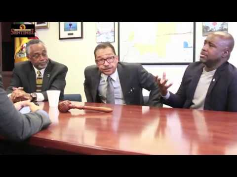 Black L.A. City Councilmen United: Herb Wesson, Curren Price and Marqueece Harris - Dawson (Part 1)