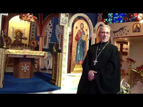 St Ann's Melkite Church tour with Fr Ken, Pastor