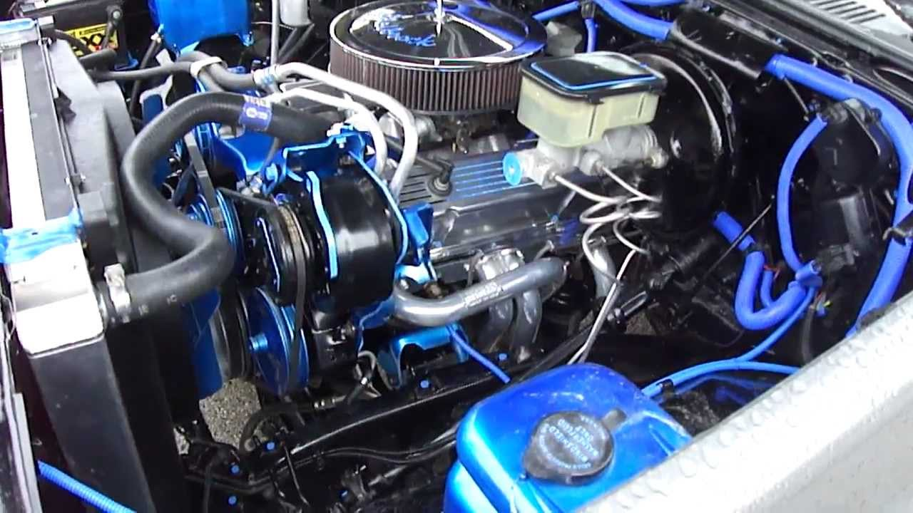 1986 Chevy C10 Custom 350 Engine  YouTube