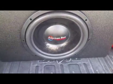 1 American Bass XFL 15 Pounding!