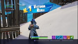 #Fortnite FIRST PARTY OF REAL VICTORY DAY
