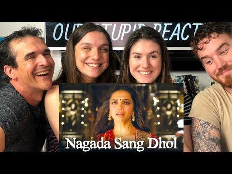 Nagada Sang Dhol | Goliyon Ki Raasleela Ram-leela | Deepika Padukone, Ranveer Singh REACTION