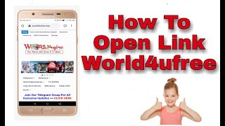 How To Dawnload Movie From World4ufree And Open Link world4ufree After Blocking With Another Tricks