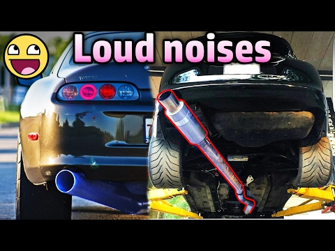 7 Cars That Sound AMAZING With STRAIGHT PIPES (BEST) !(Toyota Supra, bmw M6,Subaru WRX,GTR)