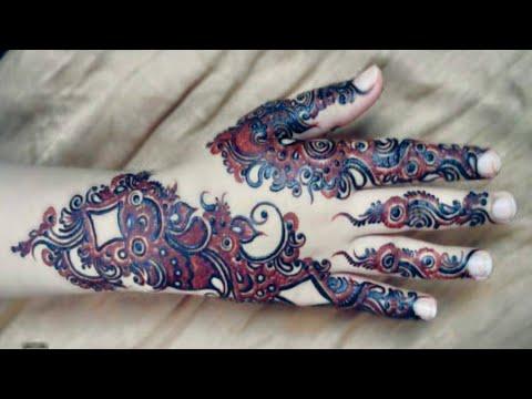 Mehndi Unique design by MK // She Trends MK