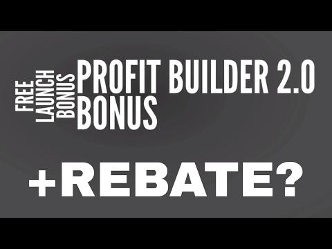 WP Profit Builder 2.0 Bonus. ProfitBuilder 2.0 REBATE? (see description)