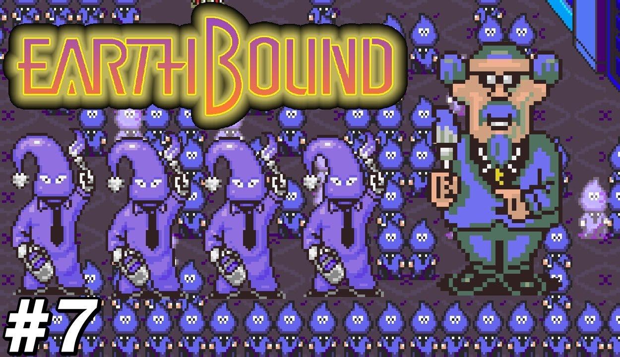 EarthBound - #7 : Azul, Azul