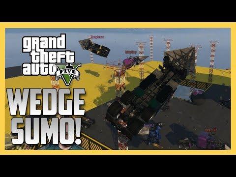 Wedge Truck Sumo - GET FLIPPED (GTA V Online)