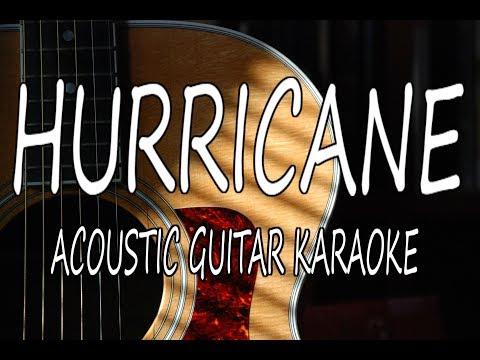 Luke Combs  Hurricane Acoustic Guitar Karaoke Lyrics on Screen