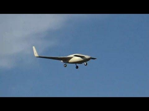 Raptor Aircraft Model Second Flight