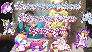 Gambar cover Unicorn overload giveaway package opening from sacred emotions!!