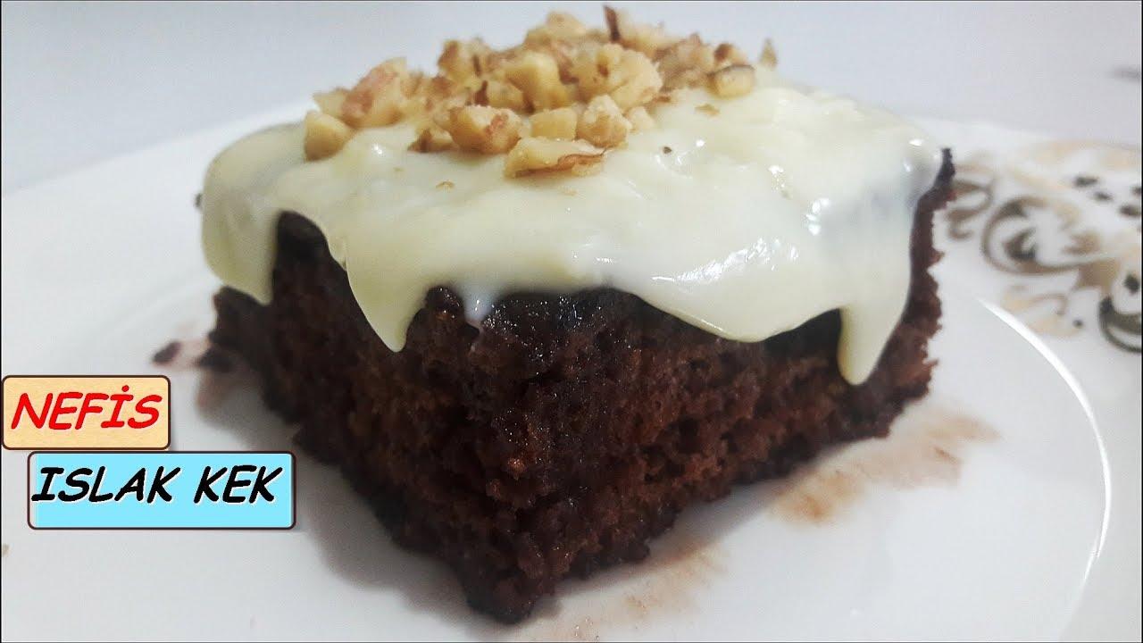 Sosu Yumurtasız Islak Kek Videosu