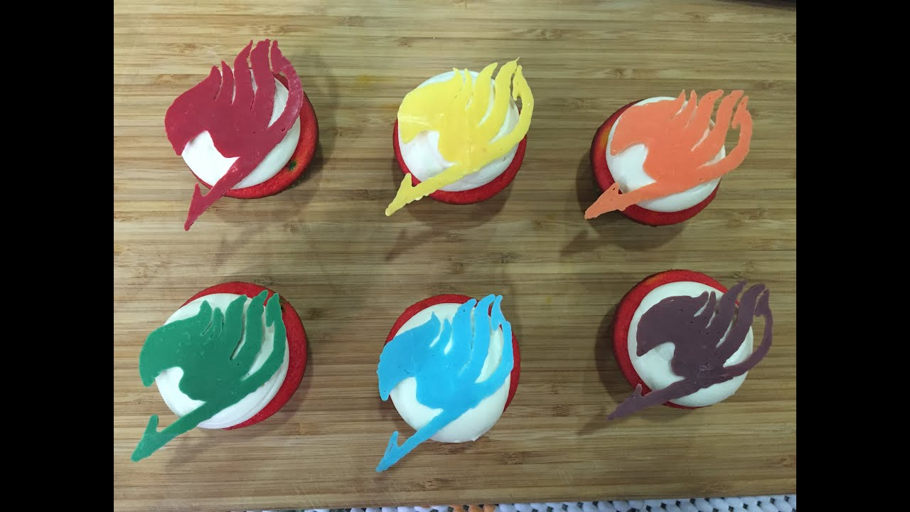 How to make fairy tail cupcakes youtube for How to make fairy cupcakes
