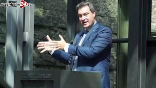 Ministerpräsident Dr. Markus Söder über den Brenner-Nordzulauf und die Asylpolitik