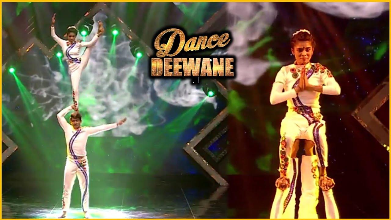 Dance Deewane 3 : Papai Aur Antara Ka Dance Perfomance Dikh Sabke Ude Hosh | Nora Fatehi