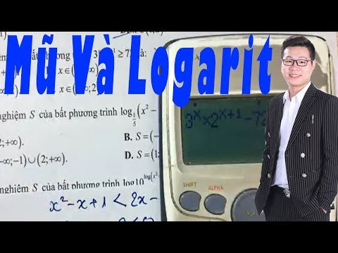 KỸ THUẬT GIẢI NHANH MŨ Và LOGARIT Thầy Nguyễn Tiến Đạt