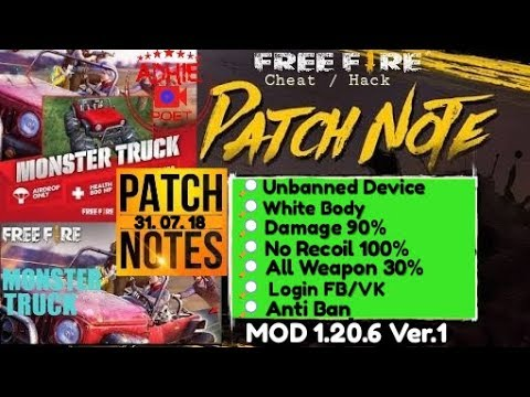 Free Fire White Body MOD Terbaru 1 20 6 Ver 1 | ⚡MEGA MOD