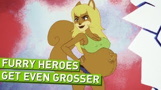 Furry Force Part 2 - Furry Superheroes Get Even Grosser