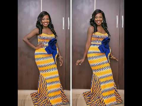 2018 AFRICAN GHANA KENTE ANKARA TRENDY HIGH CLASS LOVABLE DESIGNS