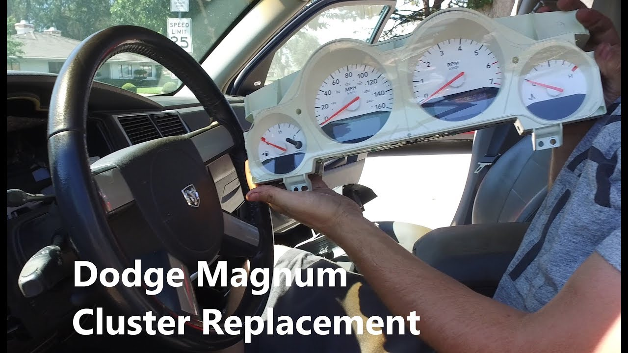 Charger / Magnum Gauge Cluster Replacement Complete Guide (4k)