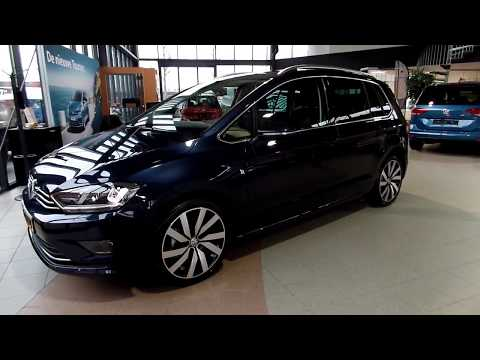Volkswagen Golf Sportsvan Night Blue Metallic 18 Inch