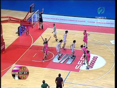 Final Coupe De Tunisie Basket Feminin Escb Css 2016 Youtube