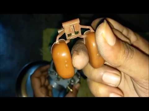 cv carburetor cleaning adjust idle AFR
